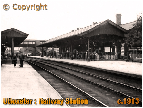 Uttoxeter : Railway Station [c.1913]