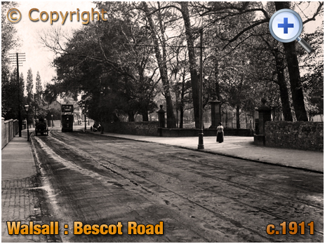 Walsall : Bescot Road [c.1911]