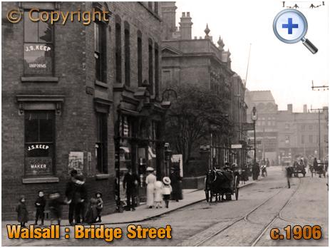 Walsall : South Side of Bridge Street [c.1906]