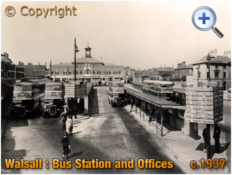 Walsall : Bus Station [c.1937]