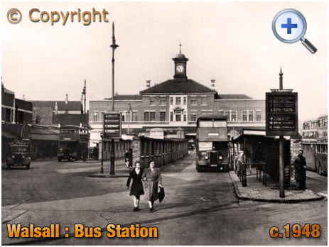 Walsall : Bus Station and Transport Offices [c.1948]