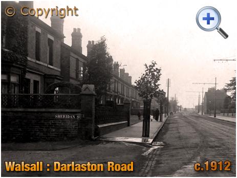 Walsall : Darlaston Road [c.1912]