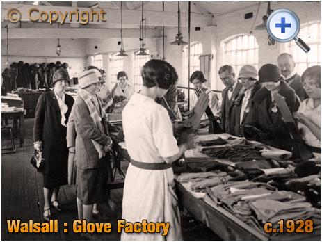 Walsall : Glove Factory [c.1928]