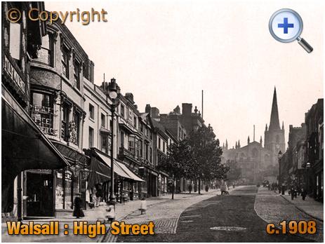 Walsall : High Street [c.1908]