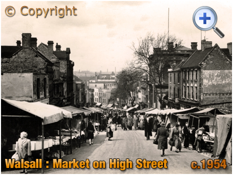 Walsall : The Market [c.1954]