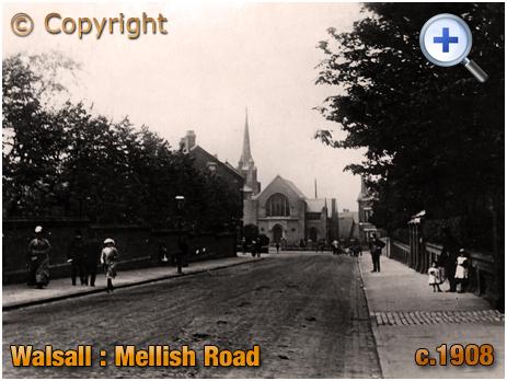 Walsall : Mellish Road [c.1908]