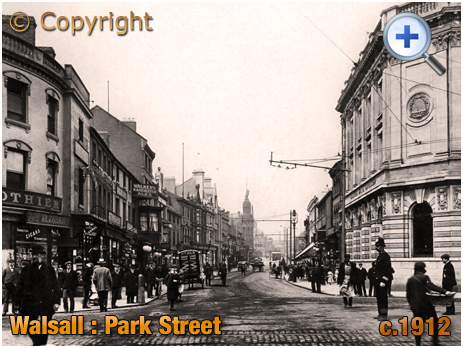 Walsall : Park Street [c.1912[