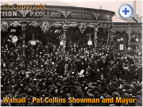 Walsall : Pat Collins - Showman and Mayor [c.1905]