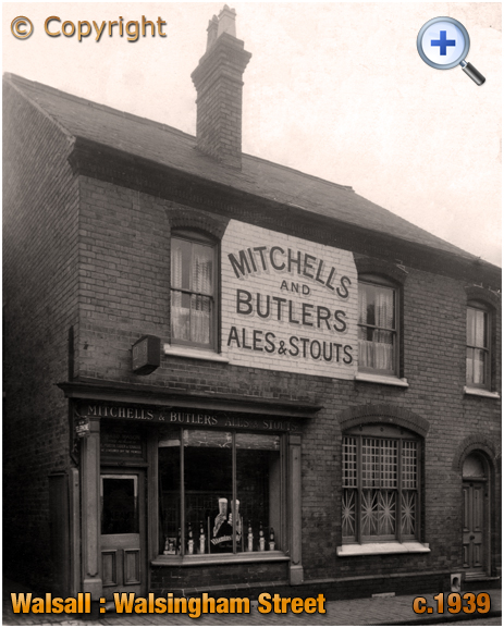Walsall : Off-Licence in Walsingham Street at The Chuckery [c.1939]