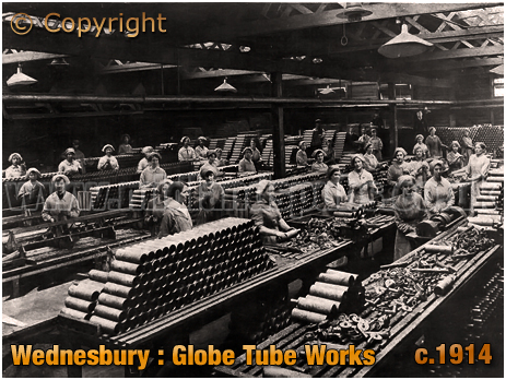 Wednesbury : Globe Tube Works [c.1914]