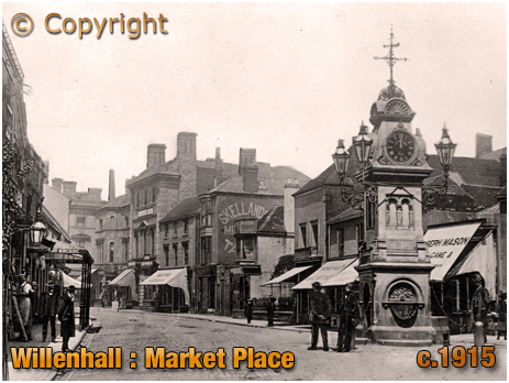 Willenhall : Market Place [c.1915]