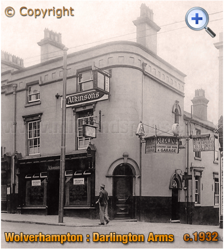 Wolverhampton : The Darlington Arms on Darlington Street [c.1932]