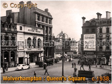 Wolverhampton : Queen's Square [c.1938[