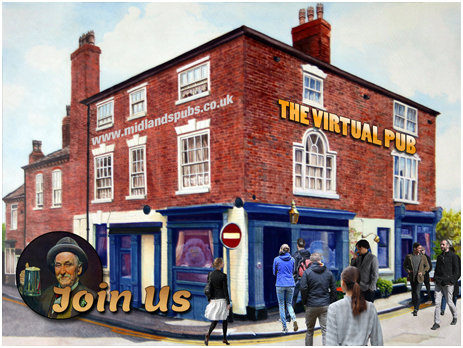 Come and join us in the Virtual Pub