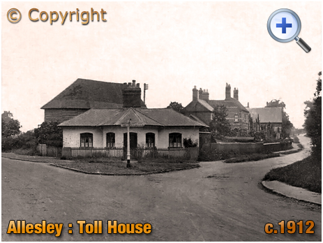 Allesley : The Old Toll House [c.1912]