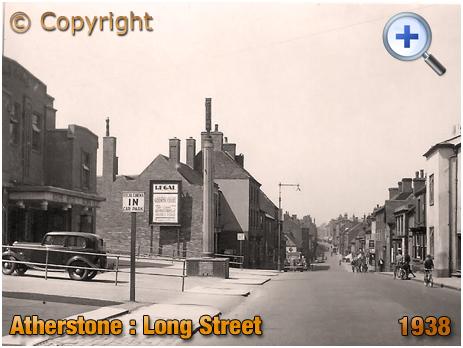 Atherstone : Long Street [1938]