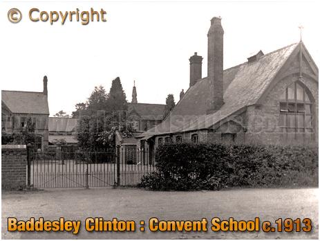Baddesley Clinton : Convent School [c.1913]