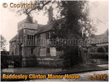 Baddesley Clinton : Manor House [c.1912]