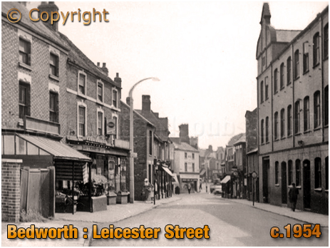 Bedworth : Leicester Street [c.1954]