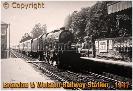 Brandon and Wolston Railway Station [1947]