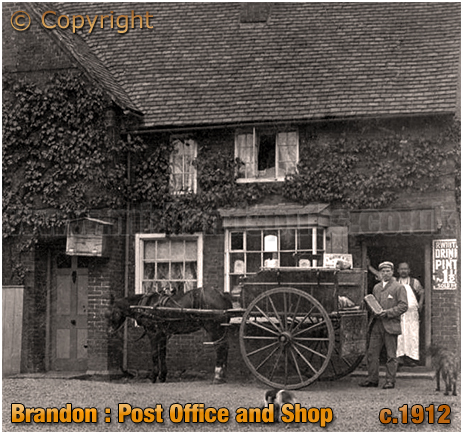 Brandon : The Post Office [c.1912]