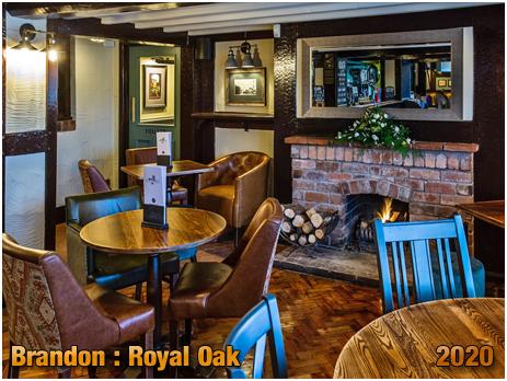Brandon : Interior of the Royal Oak [2020]