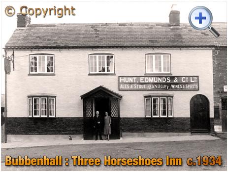 Bubbenhall : Three Horseshoes Inn [c.1934]