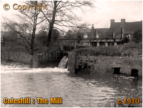 Coleshill : The Mill [c.1910]