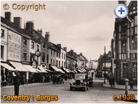 Coventry : The Burges [c.1938]