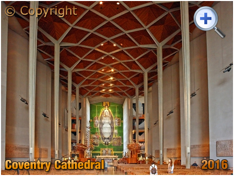 Coventry : Interior of Cathedral [2016]