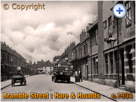 Coventry : Bramble Street and the Hare and Hounds [c.1934]