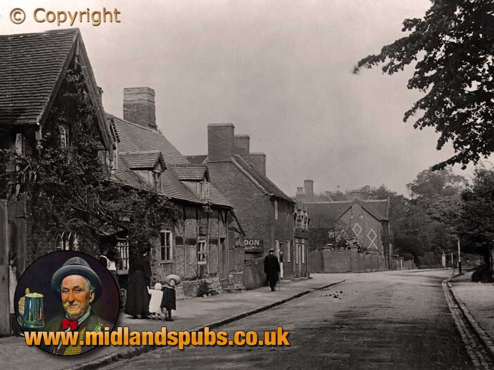 Solihull : Old Cottages [c.1907]