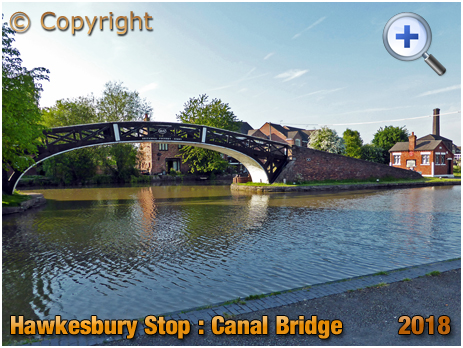Foleshill : Canal Bridge at Hawkesbury Stop [2018]