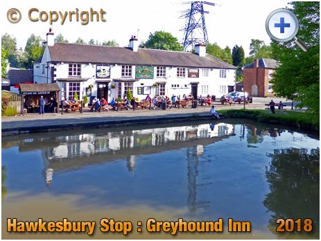 Foleshill : The Greyhound at Hawkesbury Stop [2018]