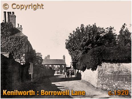 Kenilworth : Borrowell Lane [c.1920]