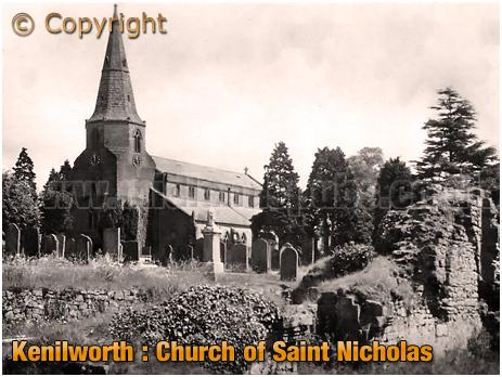Kenilworth : Church of Saint Nicholas [c.1915]