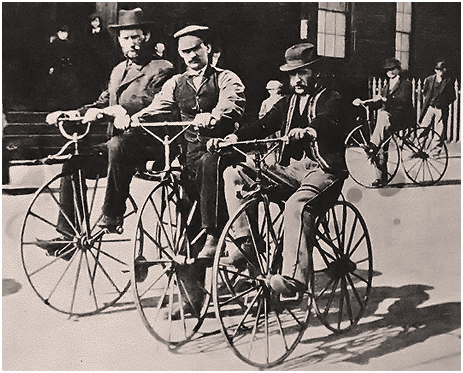 Early bicycles [c.1870s]
