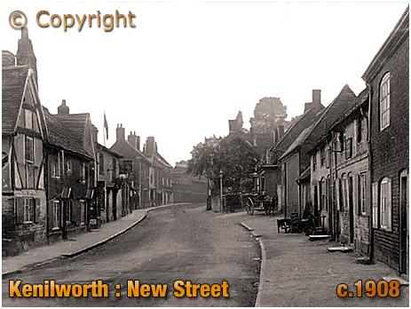 Kenilworth : New Street [c.1908]