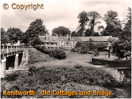 Kenilworth : Old Cottages and Bridge [c.1920]