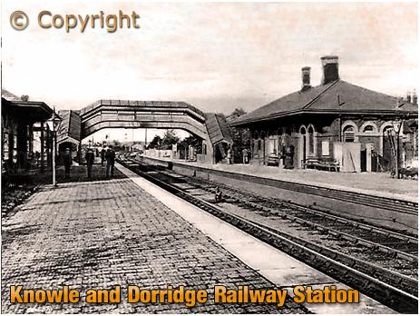Knowle and Dorridge Railway Station [c.1904]