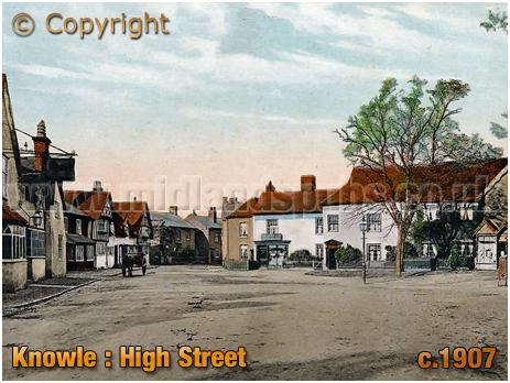 Knowle : High Street [c.1907]