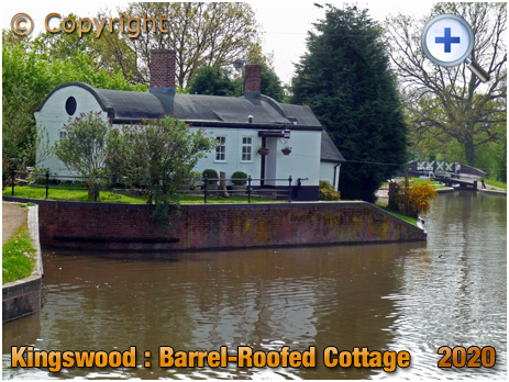 Lapworth : Barrel-Roofed Canal Cottage at Kingswood Junction [2020]
