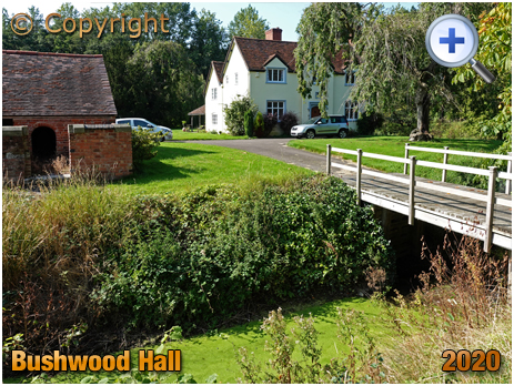 Lapworth : Bushwood Hall and Moat [2020]