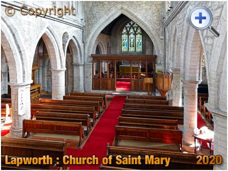 Lapworth : Interior of the Church of Saint Mary the Virgin [2020]