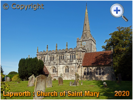 Lapworth : Church of Saint Mary the Virgin [2020]