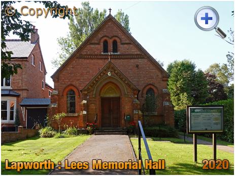 Lapworth : Lees Memorial Hall at Kingswood [2020]