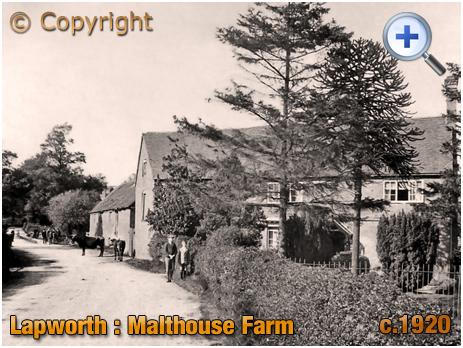 Lapworth : Malthouse Farm [c.1920];