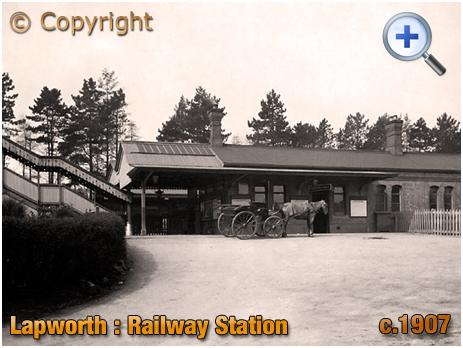 Lapworth : Railway Station [c.1907]