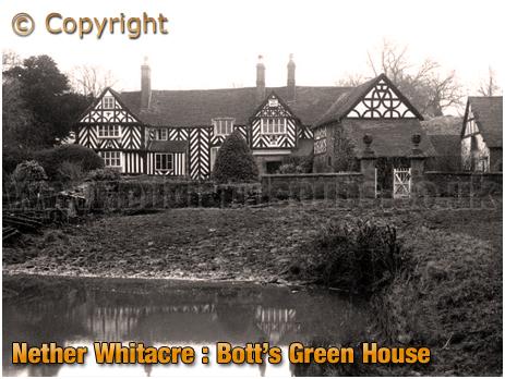 Nether Whitacre : Bott's Green House [c.1910]