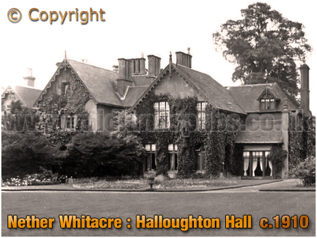 Nether Whitacre : Halloughton Hall [c.1910]